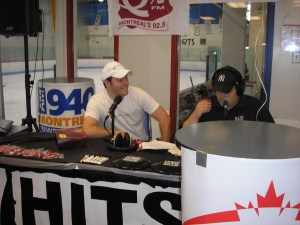 Marc live on 94.7 Hits FM